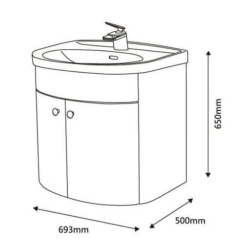 尺寸標示:  衛浴 by 綋宜實業有限公司