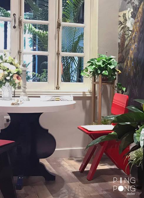 Showroom PingPong:   by PingPong Atelier Furniture