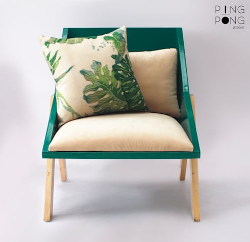 Tria armchair:   by PingPong Atelier Furniture