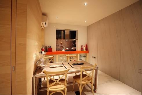 M.W JOINTS罕氏家居 x 大砌誠石空間設計 創意總監的家:  廚房 by M.W JOINTS |罕氏家居