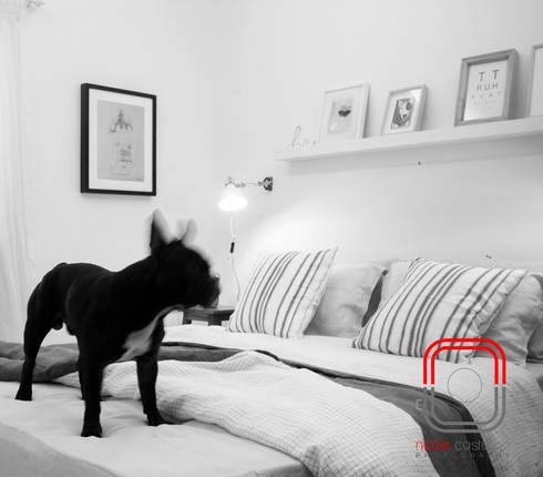 #letscreateart: eclectic Bedroom by neale castelino Photography