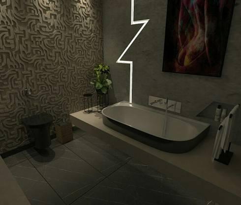 minimalistic Bathroom by A7 Arquitetura   Design