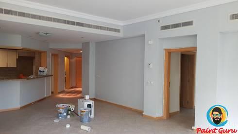 modern Living room by PaintGuru.ae
