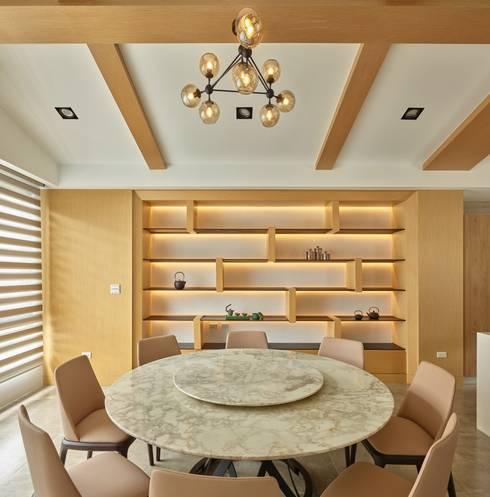 餐廳:  餐廳 by 澤序空間設計有限公司