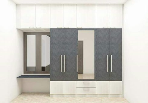 Project 4: modern Dressing room by Modern Interiors