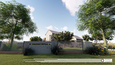 House Booysen: modern Houses by Property Commerce Architects