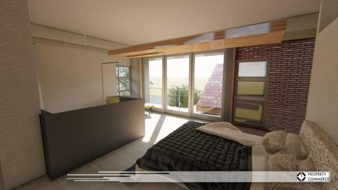 House Ramokoena: modern Bedroom by Property Commerce Architects