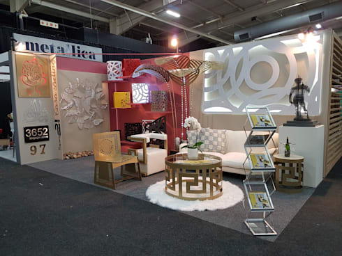 Expo Stand:  Office spaces & stores  by Metallica Steel