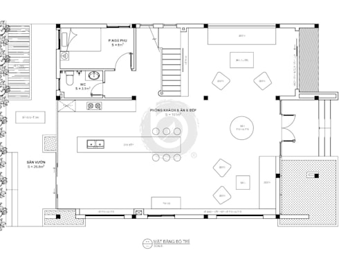 Project: HO1640 Villa/ Bel Decor:   by Bel Decor