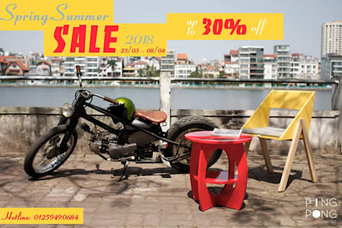 SPRING-SUMMER 2018 SALE OFF:   by PingPong Atelier Furniture