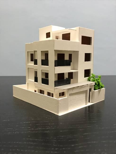模型:  別墅 by 劉勇信建築師事務所
