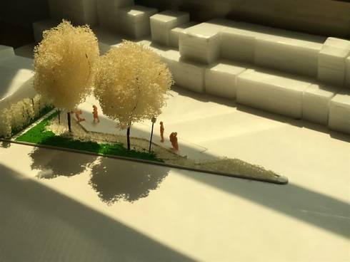 模型:  庭院 by 劉勇信建築師事務所