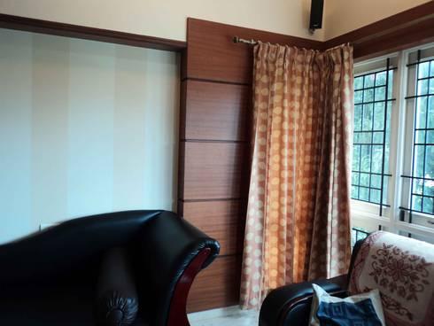 Sathyanarayanan Home Interior Design-6, Bangalore:  Inside doors by Bhavana Interiors Decorators