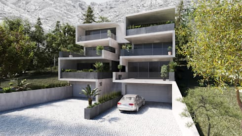 Exterior View:  Terrace house by 7Storeys