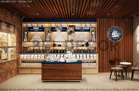 Project: PR1705 Tea & Coffee Shop/ Bel Decor:   by Bel Decor