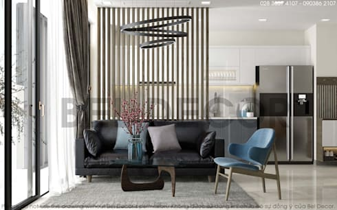 Project: HO17130 Modern Apartment/ Bel Decor:   by Bel Decor