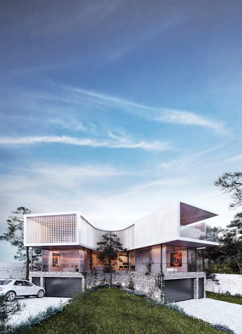 Exterior View:  Villas by 7Storeys