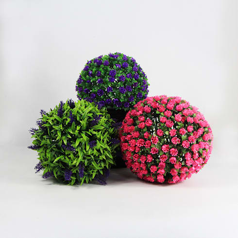 SUNWING Artificial Topiary Balls,Bespoke Color & Design:  Interior landscaping by Sunwing Industrial Co., Ltd.
