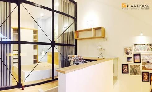 Căn hộ siêu tiết kiệm - Chung cư Ehome 2:  Phòng học/Văn phòng by KTAA HOUSE
