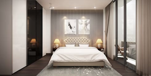Space Restoration BEDROOM:   by ACL Architects