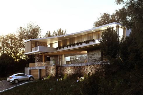 Exterior View:  Villas by 7Storeys