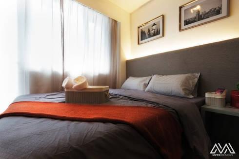 SMDC Grace: modern Bedroom by MVRX Designs