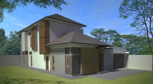 Cisaranten Residence:  Rumah tinggal  by Urbanismo Indonesia