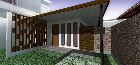Babakan Sari House:  Rumah tinggal  by Urbanismo Indonesia