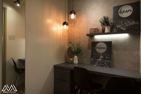 Touch of Modern—Laureano Di Trevi Tower 2: modern Dining room by MVRX Designs