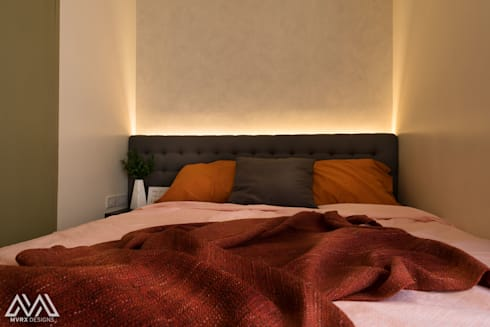 Touch of Modern—Laureano Di Trevi Tower 2: modern Bedroom by MVRX Designs