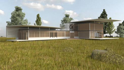 """Casa """"Pieles"""": Casas de estilo moderno por Artem arquitectura"""