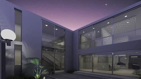 Salón de Belleza & Spa AC: Espacios comerciales de estilo  por Artem arquitectura