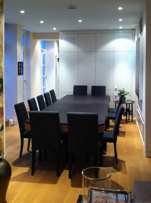 penthouse in london umbau und sanierung esszimmer von meyerfeldt architektur innenarchitektur