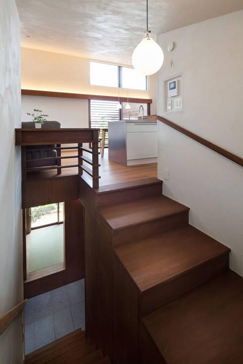 Лестницы в . Автор – HAN環境・建築設計事務所