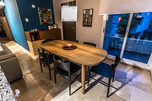 modern Dining room by Design Group Latinamerica
