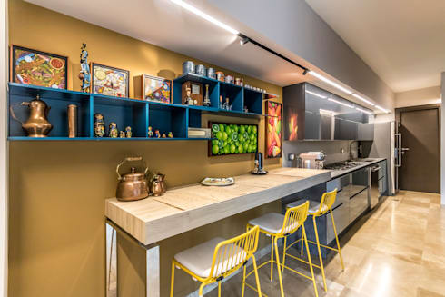 modern Kitchen by Design Group Latinamerica