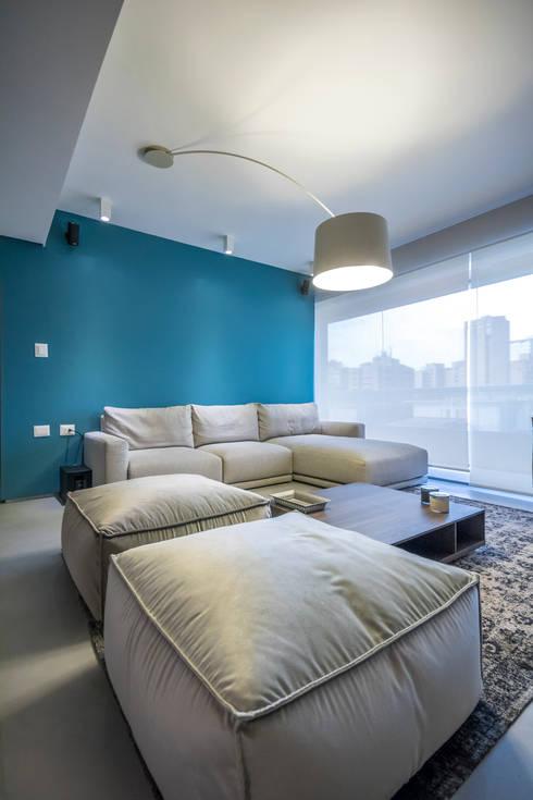 modern Living room by Design Group Latinamerica