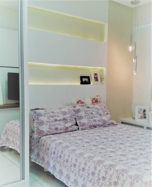 Apartamento C.:   por Joana Rezende Arquitetura e Arte