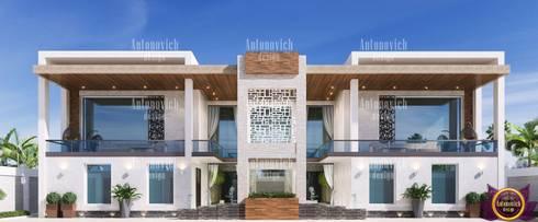Architectural design solutions of Katrina Antonovich: modern Houses by Luxury Antonovich Design