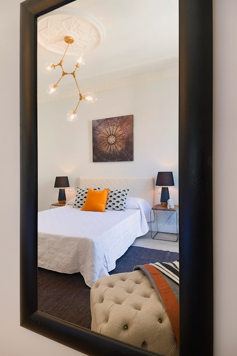 Detalle dormitorio: Dormitorios de estilo moderno de Markham Stagers