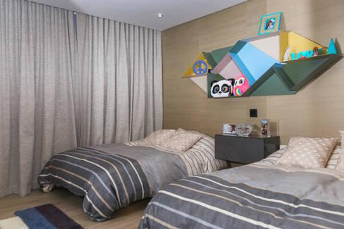 modern Nursery/kid's room by Design Group Latinamerica