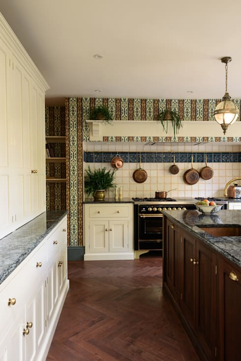 eclectic Kitchen by deVOL Kitchens