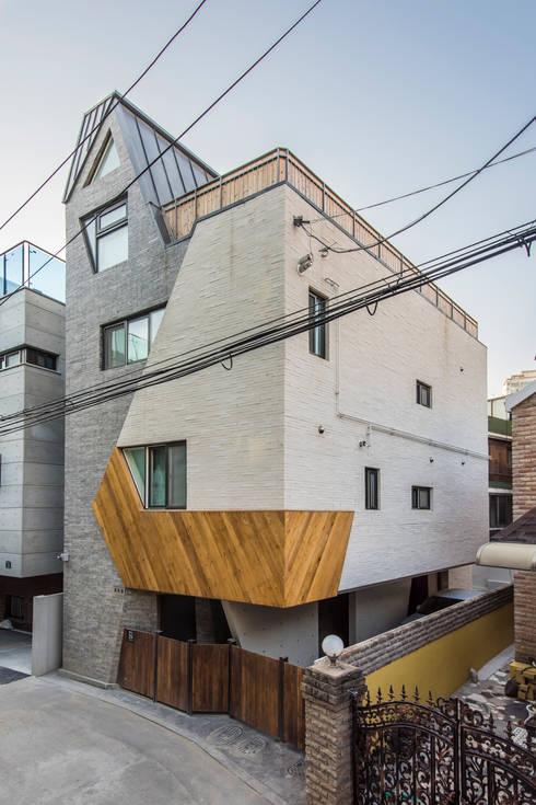 منازل تنفيذ 오파드 건축연구소