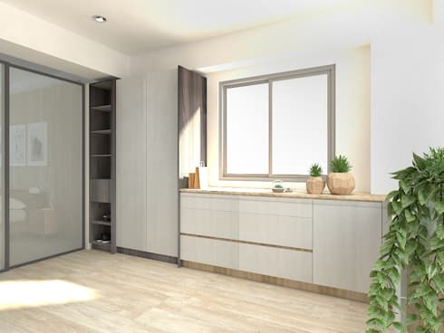 3F更衣室渲染圖:   by 窩居 室內設計裝修