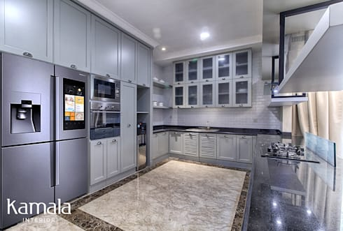 Private Residence @ Venice, PIK :  Dapur by Kamala Interior