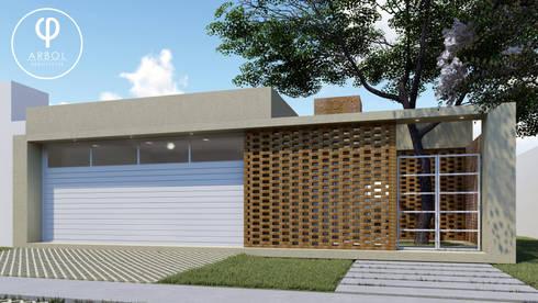 Casas de estilo minimalista por ARBOL Arquitectos