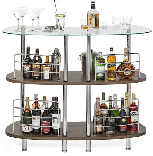 WINSOME MARTINI ENTERTAINMENT BAR: modern Wine cellar by Perfect Home Bars