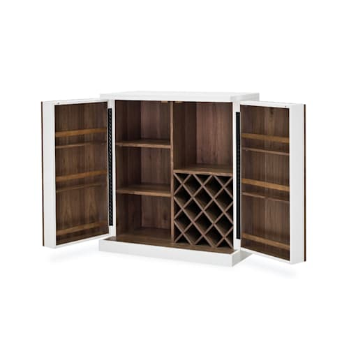FOUR HANDS TUCKER BAR CABINET: modern Wine cellar by Perfect Home Bars