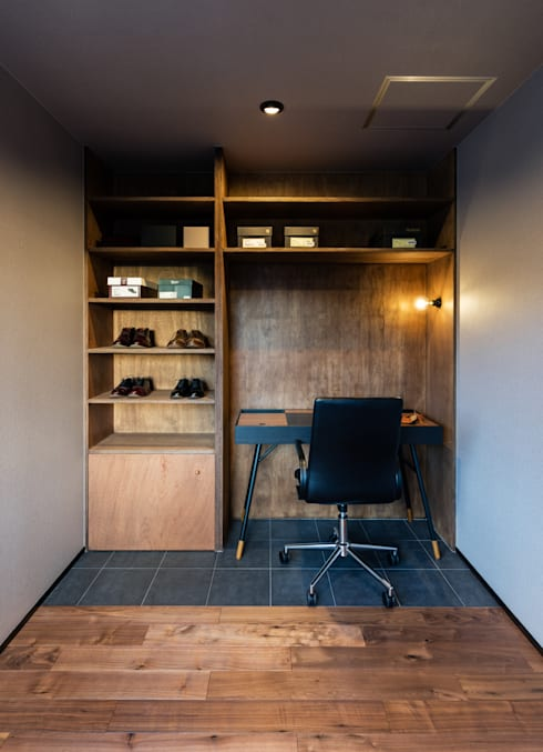 書斎: SQOOL一級建築士事務所が手掛けた書斎です。