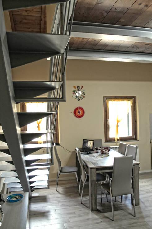 Salas / recibidores de estilo moderno por MAURRI + PALAI architetti